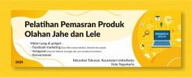 Pelatihan Pemasaran Digital untuk Ibu-ibu di Kelurahan Tahunan